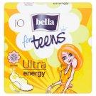 Bella For Teens Ultra Energy Sanitary Pads 10 pcs