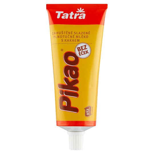 Tatra Pikao Sweetened Condensed Cocoa Milk with The Addition of Sucrose 150 g