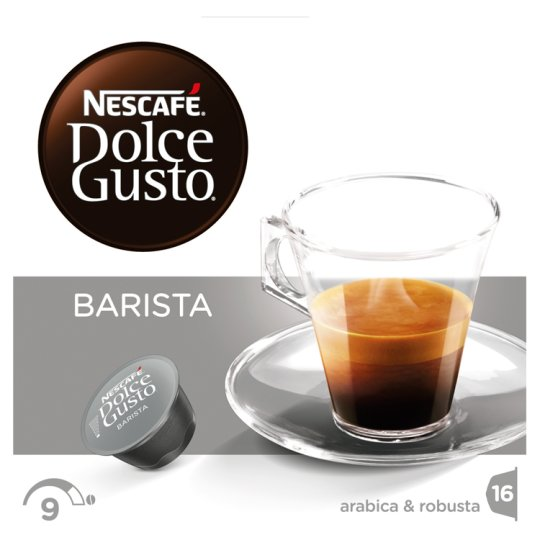 NESCAFÉ Dolce Gusto Barista - Coffee in Capsules - 16 Capsules Packed