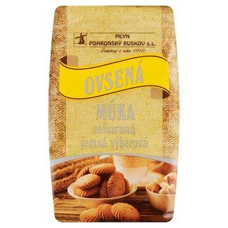 Mlyn Pohronský Ruskov Whole Grain Oatmeal Fine-Selection 800 g