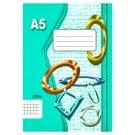 Papírny Brno 525e Squared Exercise Book A5 20 Sheets