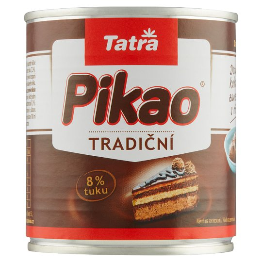 Tatra Pikao Sweetened Condensed Cocoa Milk with The Addition of Sucrose 397 g