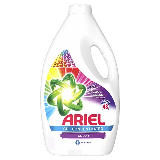 Ariel Washing Liquid Color & Style 2.64 L, 48 Washes