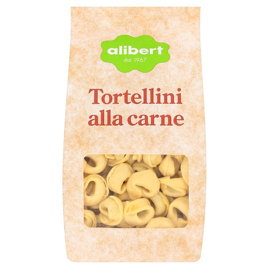 Alibert Tortellini Filled with Meat 250 g