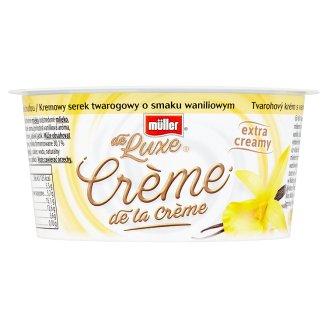 Müller de Luxe Crème de la Crème tvarohový krém s vanilkovou príchuťou 135 g