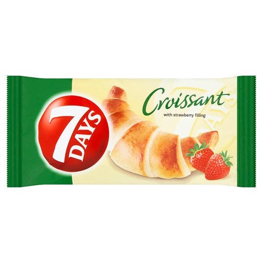 7 Days Croissant with Strawberry Filling 60 g