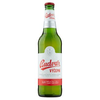 Budweiser Budvar B:Classic Light Draft Beer 0.5 L