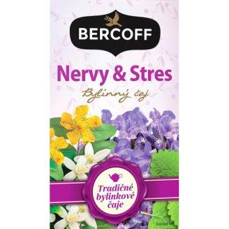 Bercoff Klember Herbal Nervy & stres bylinný čaj 20 x 1,5 g