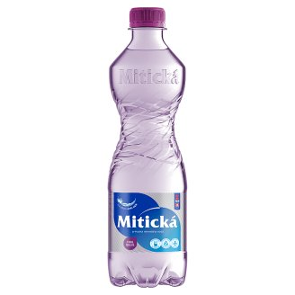 Mitická Sparkling Natural Mineral Water 0.5 L