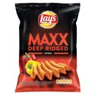 Lay's Maxx Fried Potato Chips Flavoured with Spicy Peppers 70 g