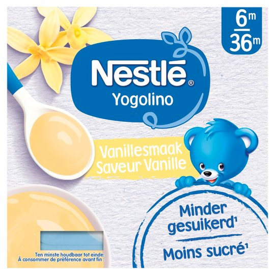 Nestlé Yogolino Dessert vanilka 4 x 100 g