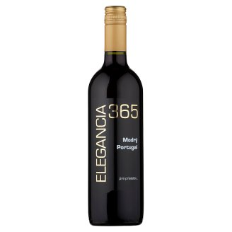 Elegancia 365 Modrý Portugal Red Dry Wine 0.75 L