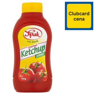 Spak Gourmet Kečup jemný 900 g