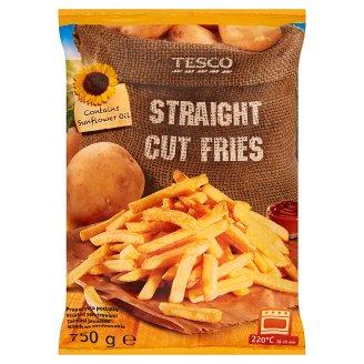 Tesco Straight Cut Fries 750 g