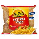 McCain 123 Fries Original Deep-Frozen 1.5 kg