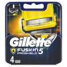 Gillette Fusion5 ProShield Razor Blades For Men, 4 Refills