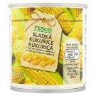Tesco Sweet Corn Slightly in Brine 170 g