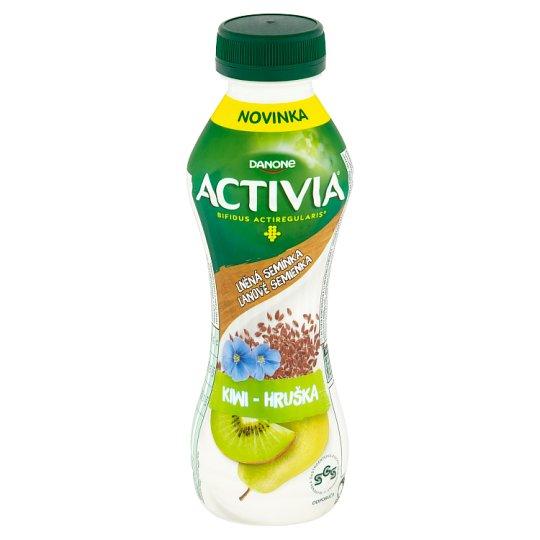 Danone Activia Kiwi - hruška s ľanovými semienkami jogurtový nápoj 310 g