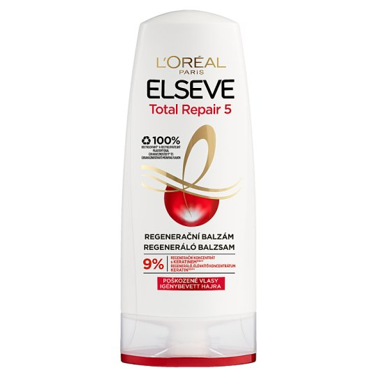 L'Oréal Paris Elseve Total Repair 5 Regenerative Balm for Damaged Hair 200 ml