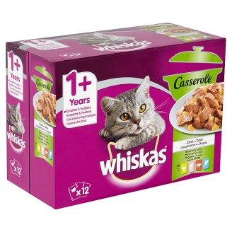 Whiskas Casserole mixovaný výber v želé 12 x 85 g