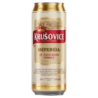 Krušovice Imperial Light Lager Beer 0.5 L
