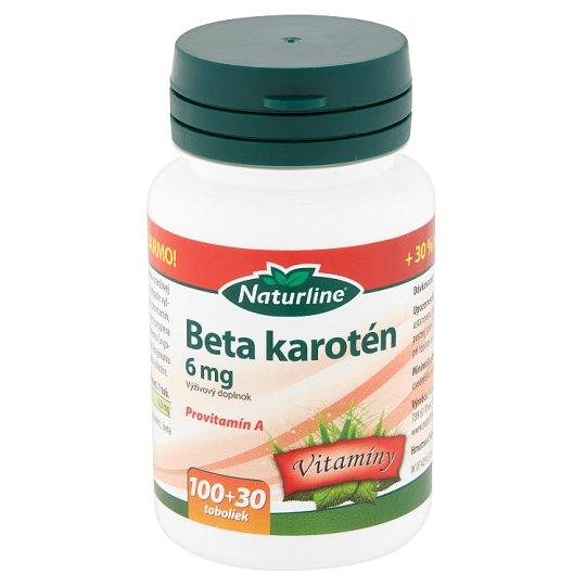 Naturline Beta Carotene Nutritional Supplement 6 mg 130 Capsules