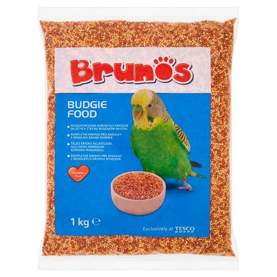 Brunos Kompletné krmivo pre andulky 1 kg