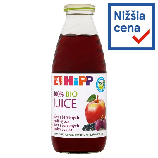 HiPP 100% Organic Red Berries Juice 0.5 L