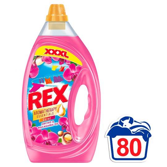 Rex Aromatherapy Color prací prostriedok 80 praní 4 l