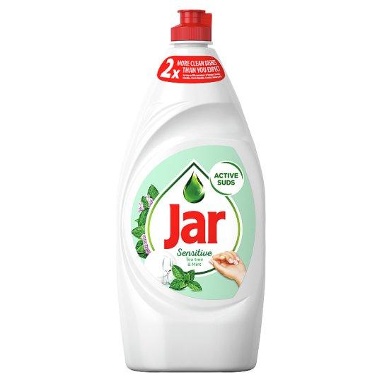 Jar Sensitive Teatree & Mint Prostriedok Na Umývanie Riadu, 900 ml