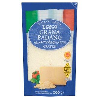 Tesco Grana Padano Extra Hard Ripened Semi-Fat Grated Cheese 100 g
