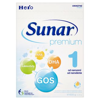Sunar Premium 1 Initial Dried Lactic Baby Food 2 x 300 g