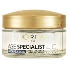 L'Oréal Paris Age Specialist 55+ obnovujúci nočný krém proti vráskam 50 ml