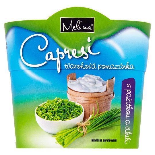 Melina Capresi Tvarohová nátierka s pažítkou a cibuľou 150 g