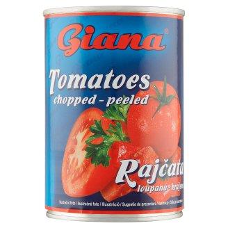 Giana Lúpané paradajky krájané v paradajkovej šťave 400 g