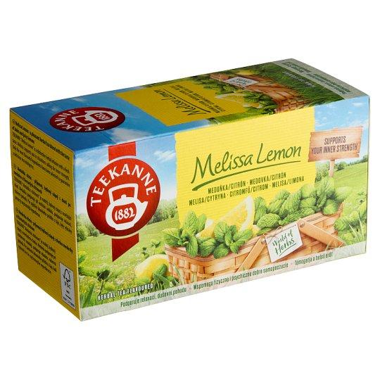 TEEKANNE Melisa Lemon, Herbal Tea, 20 Bags, 30 g