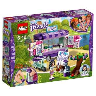 LEGO FRIENDS Emma a jej umelecký stojan 41332