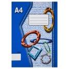 Papírny Brno 440e nelinajkovaný zošit A4 40 listov