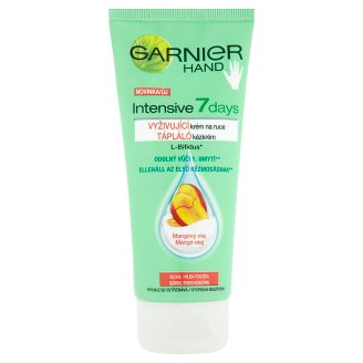 Garnier Hand Intensive 7 Days Nourishing Hand Cream Mango Oil for Dry Skin 100 ml