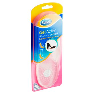 Scholl GelActiv Insoles with Heels