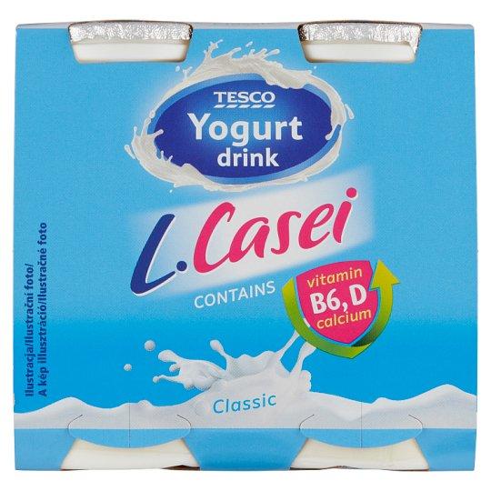 Tesco Jogurtový nápoj s kultúrou L. paracasei 4 x 100 g