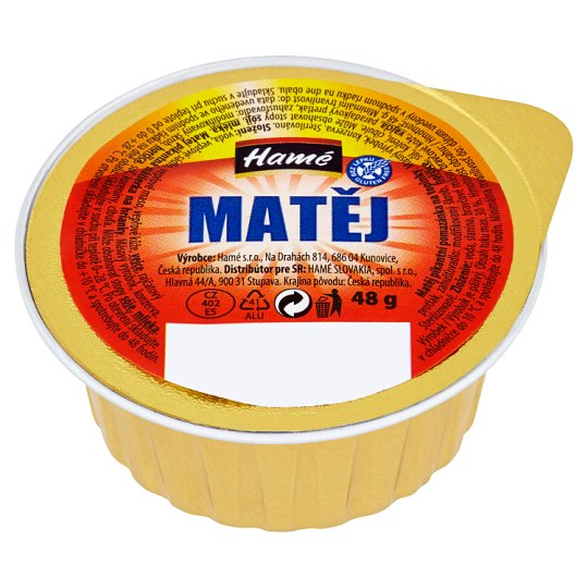 Hamé Matej Spicy Toast Spread 48 g
