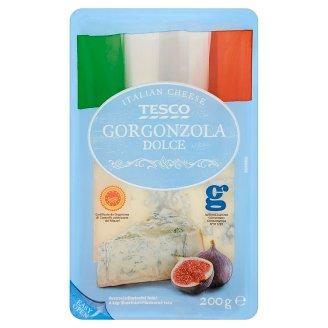 Tesco Gorgonzola Dolce mäkký zrejúci plnotučný syr s modrou plesňou 200 g