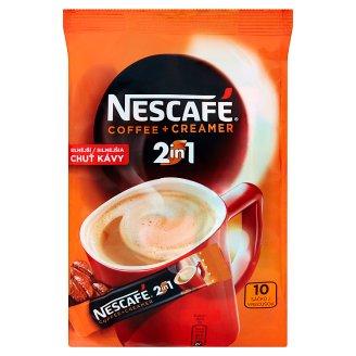 NESCAFÉ 2in1, instantná káva, 10 vreciek x 8 g (80 g)