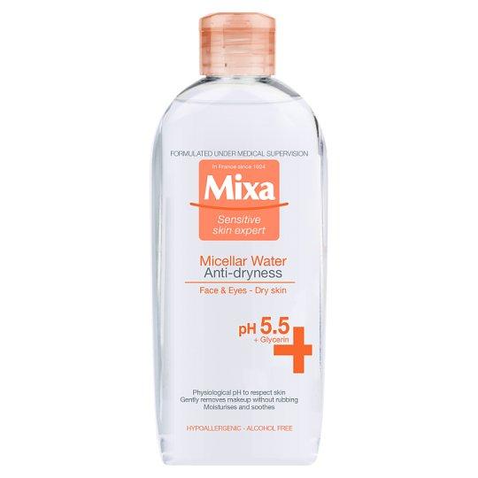 Mixa Sensitive Skin Expert Micerálna voda proti vysušovaniu 400 ml