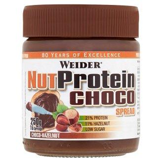 Weider Lahodný lieskovo orieškový čokoládový krém 250 g