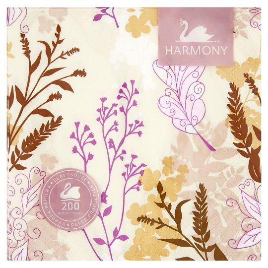 Harmony Obrúsky 3 vrstvové 20 ks