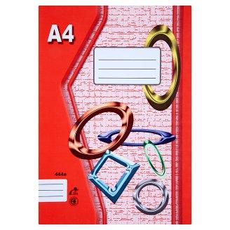 Papírny Brno 444e linajkovaný zošit A4 40 listov
