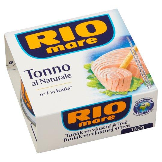 Rio Mare Tuniak vo vlastnej šťave 160 g