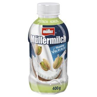 Müller Müllermilch Mliečny nápoj s pistáciovo-kokosovou príchuťou 400 g
